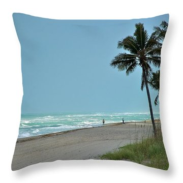 Hollywood Throw Pillow by Joseph Yarbrough