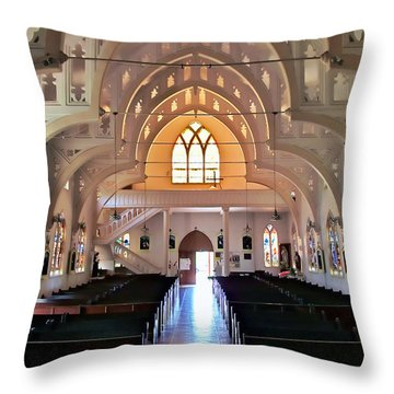 Holy Rosary 2 Throw Pillow
