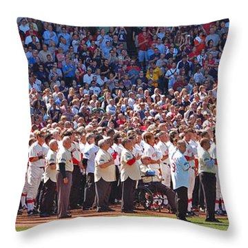 Homage Throw Pillow by Joann Vitali
