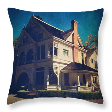 Home Throw Pillow by Laurie Search