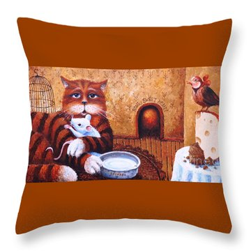 Home Sweet Home Throw Pillow