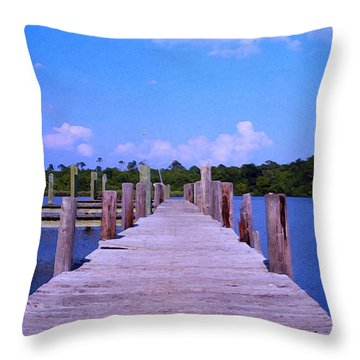 Throw Pillow featuring the photograph Hope For The Future by Brian Wright