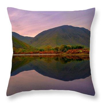 Horizon Line Throw Pillow by Svetlana Sewell