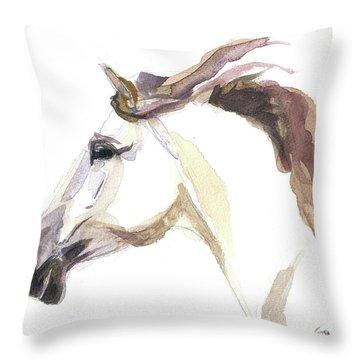 Horse - Julia Throw Pillow