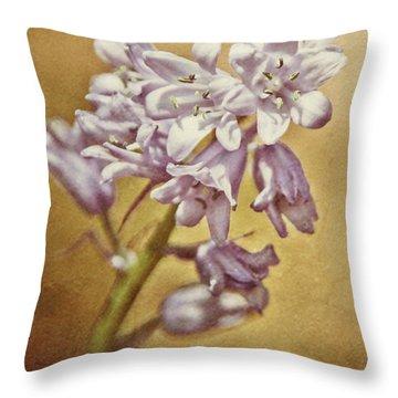 Hosta In The Morning Throw Pillow