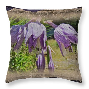 Hosta La Vista Baby Throw Pillow by Mother Nature