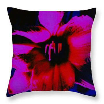 Throw Pillow featuring the photograph Hot by Carolyn Repka