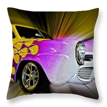 Hot Rod Art Throw Pillow by Steve McKinzie