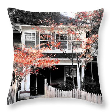 House In Cooper Young Throw Pillow