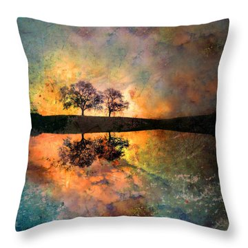 How Trees Reinvent The Morning Throw Pillow