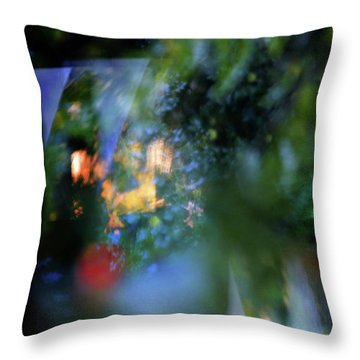 Throw Pillow featuring the photograph Hues - Forms - Feelings   by Richard Piper