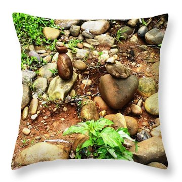 Human N A Duck Throw Pillow by Piety Dsilva