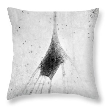 Human Neuron Throw Pillow