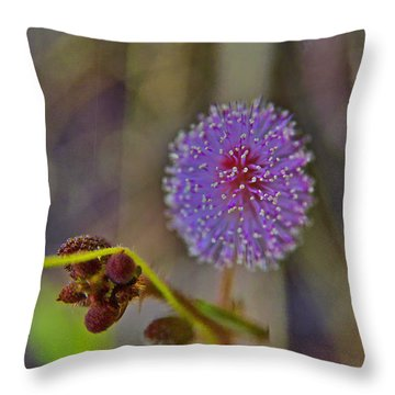 Humble Weed 1 Throw Pillow by Jocelyn Kahawai