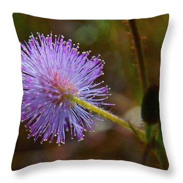 Humble Weed 2 Throw Pillow by Jocelyn Kahawai