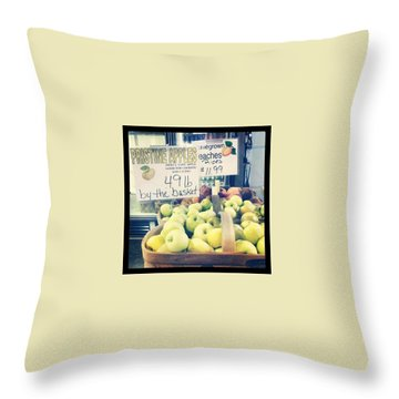 Apple Throw Pillows