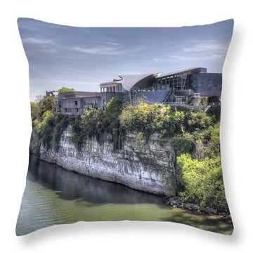 Hunter Museum  Throw Pillow