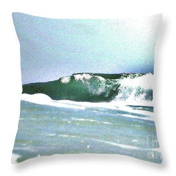 Huntington Wave Throw Pillow