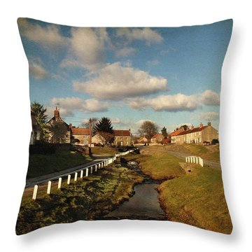 Hutton-le-hole Throw Pillow