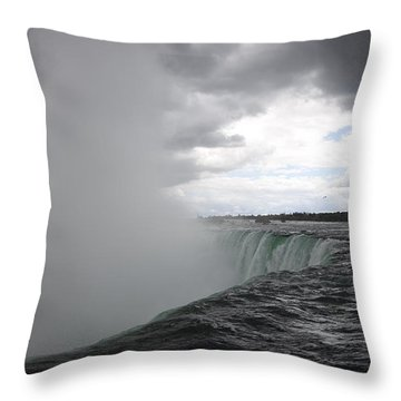 Hydro Throw Pillow by Amanda Barcon