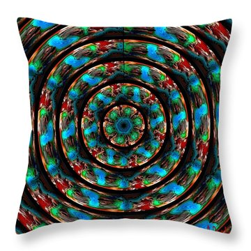 I Am Looking Through You Throw Pillow by Alec Drake
