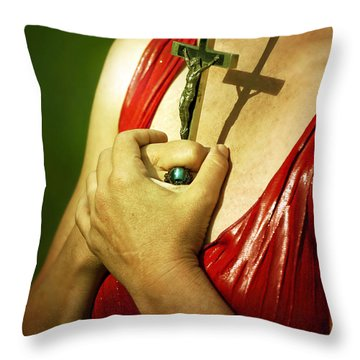 I Believe Throw Pillow by Joana Kruse