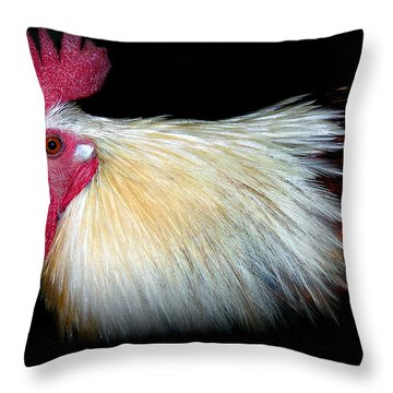 I Came First Throw Pillow by Skip Willits