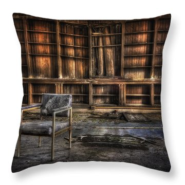 I Don't Want Your Yesterdays Throw Pillow