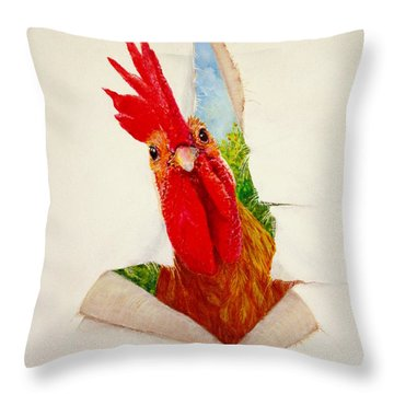 I Had A Breakthrough Throw Pillow