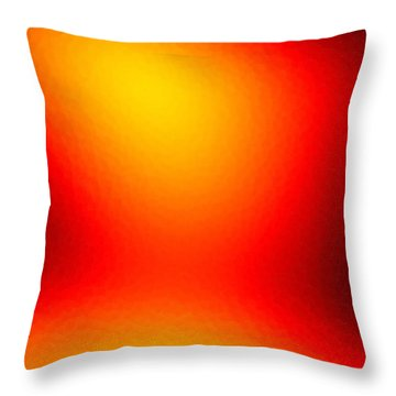 Throw Pillow featuring the digital art Icamo by Jeff Iverson