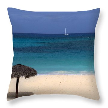 Throw Pillow featuring the photograph Idyllic Day by Lynn Bolt