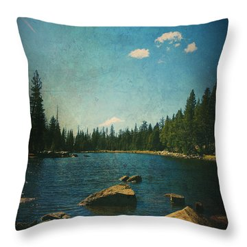 If It Could Be Just You And Me Throw Pillow by Laurie Search