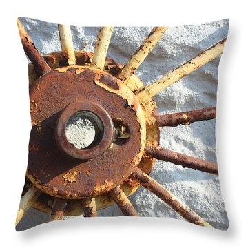 If The Sun Rusted  Throw Pillow