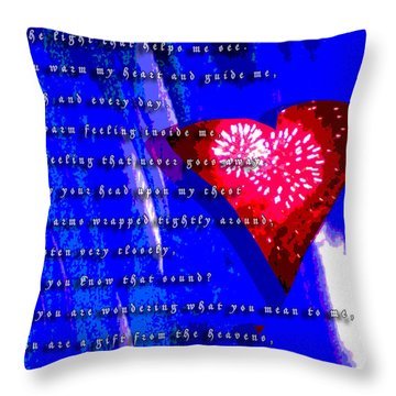 If You Are Wondering Throw Pillow by Jimi Bush