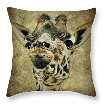 If You've Got It...flaunt It Throw Pillow by Sami Martin