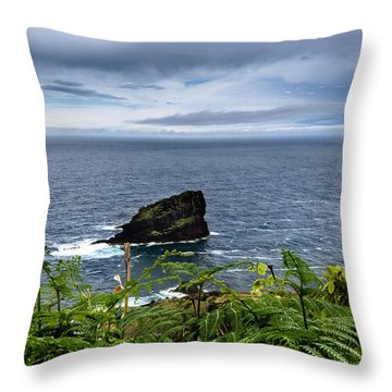 Ilheu Throw Pillow by Edgar Laureano