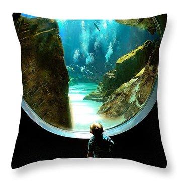 Imagination Throw Pillow by Anna Rumiantseva