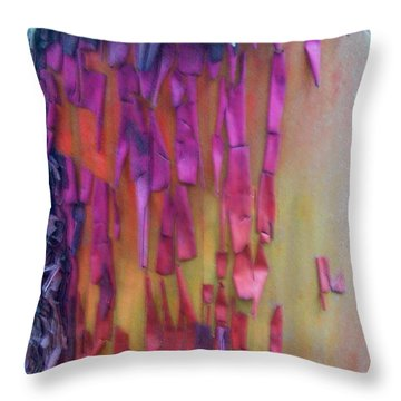 Throw Pillow featuring the digital art Imagination by Richard Laeton