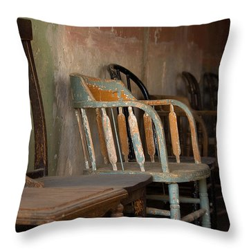 Throw Pillow featuring the photograph In Another Life - Another Time by Vicki Pelham