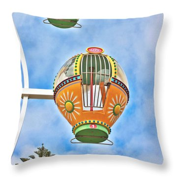 In Descent Throw Pillow