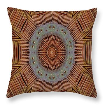 In Japan Style Throw Pillow by Pepita Selles