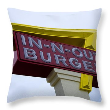 In-n-out IIi Throw Pillow