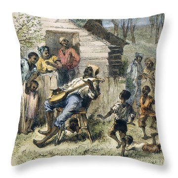 In Old Virginny, 1876 Throw Pillow by Granger