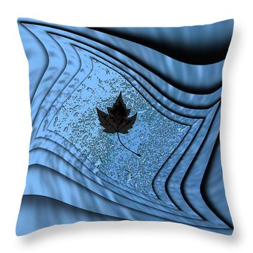 In The Eye Of The Storm 2 Throw Pillow by Tim Allen