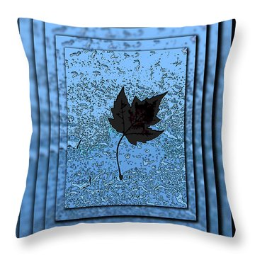 In The Eye Of The Storm Throw Pillow by Tim Allen
