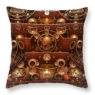 In The Grand Scheme Of Things Throw Pillow