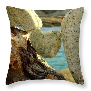 In The Heart Of Things Throw Pillow