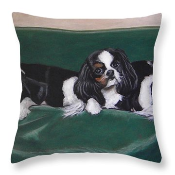 In The Lap Of Luxury Throw Pillow