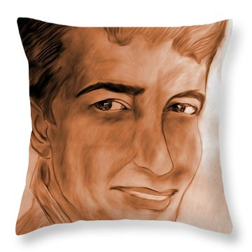 In The Limelight Throw Pillow by Maria Urso