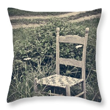 In The Moment Throw Pillow by Jessica Brawley